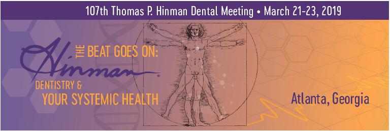 2019 Hinman Dental Meeting