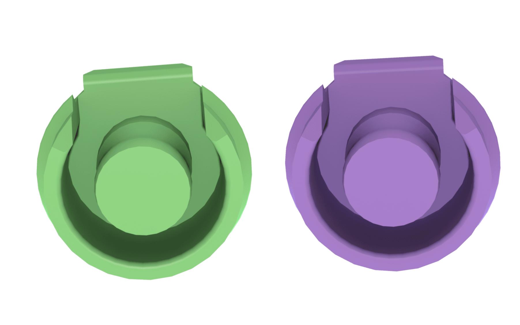 Need More Retention? Introducing the ERA® RV Green & Purple Male Attachments